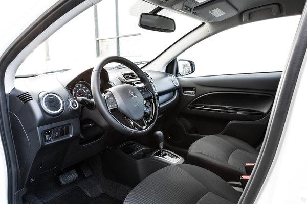 2017 Mitsubishi Mirage G4 Interior