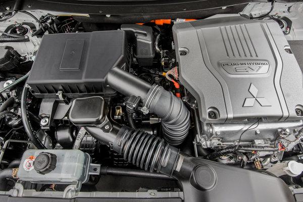 2017 Mitsubishi Outlander PHEV Engine