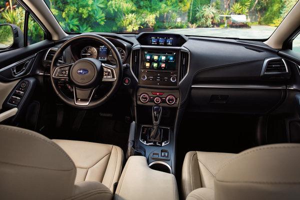 2017 Subaru Impreza sedan Interior