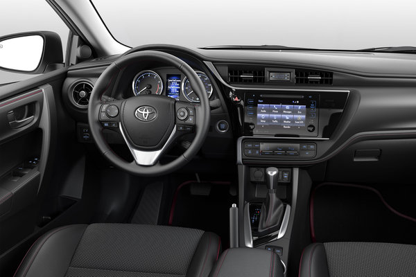 2017 Toyota Corolla 50th Anniversary Edition Interior