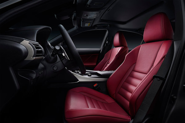 2017 Lexus IS Interior