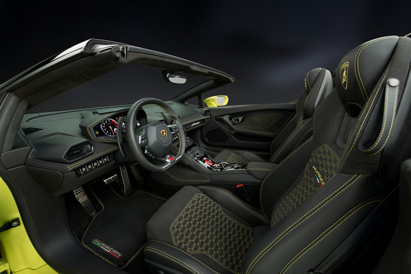2017 Lamborghini Huracan Spyder Interior