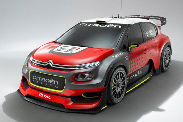 2016 Citroen C3 WRC