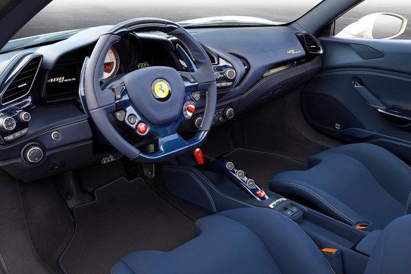 2017 Ferrari 488 Spider Interior 70th Anniversary special edition