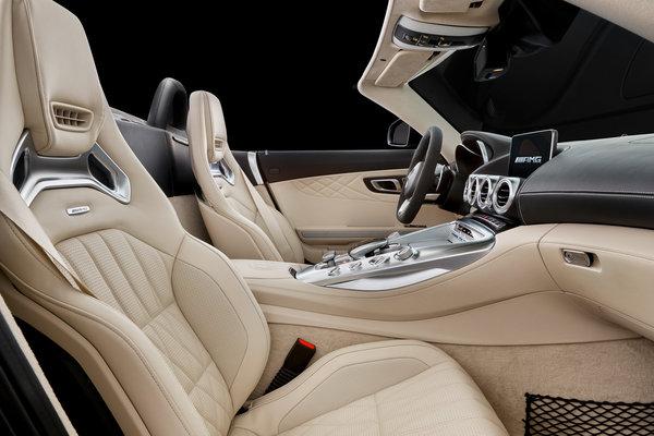 2018 Mercedes-Benz AMG GT Roadster Interior