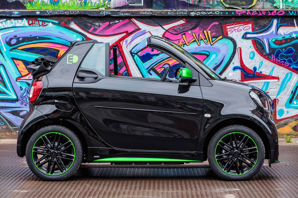 2017 Smart electric drive cabrio