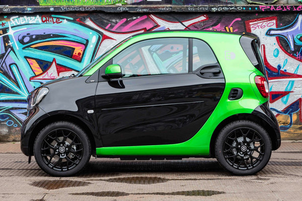 2017 Smart electric drive coupe