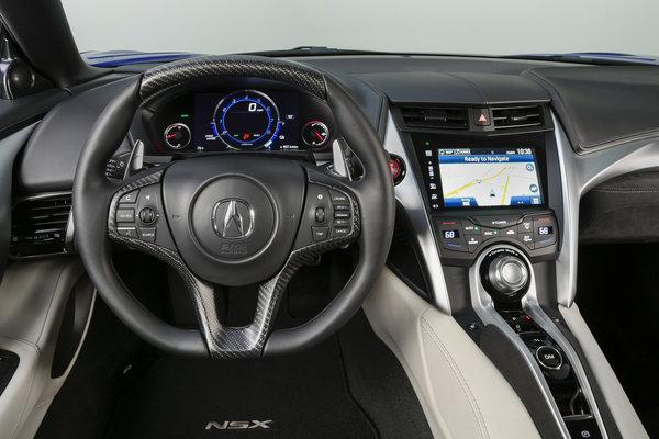 2017 Acura NSX Instrumentation
