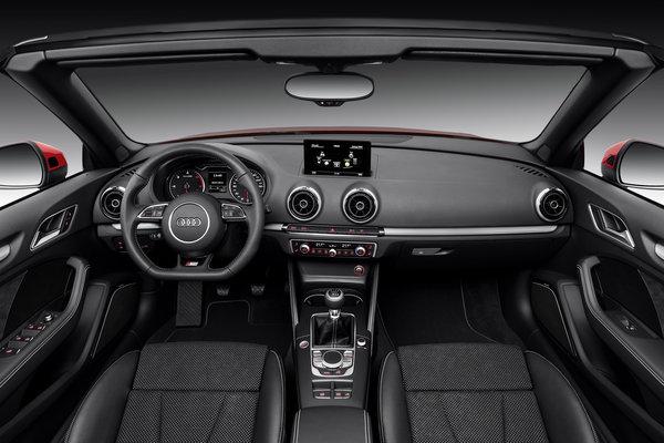 2017 Audi A3 Cabriolet Interior