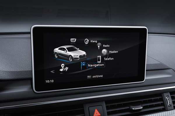 2017 Audi A5 coupe Instrumentation