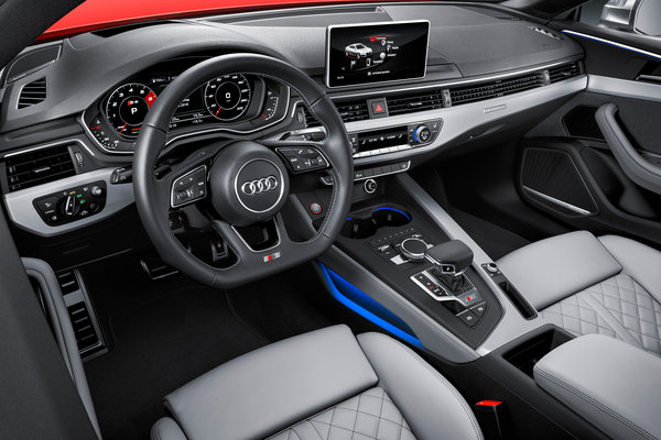 2017 Audi S5 coupe Interior