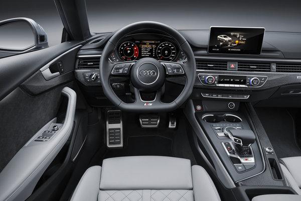 2017 Audi S5 Sportback Instrumentation
