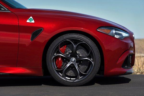 2017 Alfa Romeo Giulia Quadrifoglio Wheel