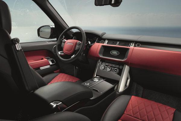 2017 Land Rover Range Rover SVAutobiography Dynamic Interior