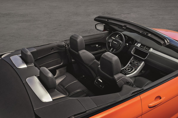 2017 Land Rover Range Rover Evoque convertible Interior