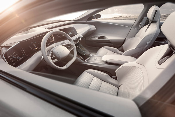 2019 Lucid Air Interior