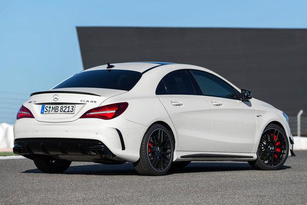2017 Mercedes-Benz CLA-Class AMG CLA45