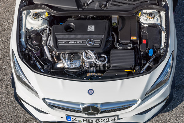 2017 Mercedes-Benz CLA-Class AMG CLA45 Engine