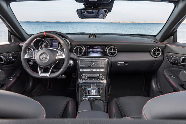 2017 Mercedes-Benz SLC-class Interior