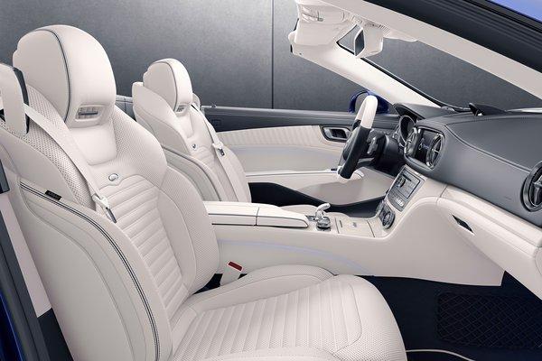 2017 Mercedes-Benz SL-Class designo Edition Interior