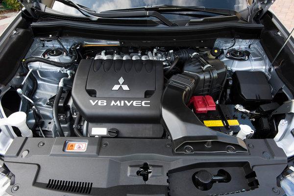2017 Mitsubishi Outlander GT Engine