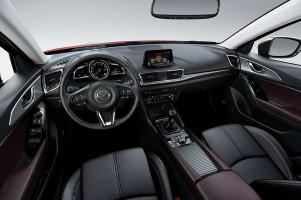 2017 Mazda Mazda3 5d Interior