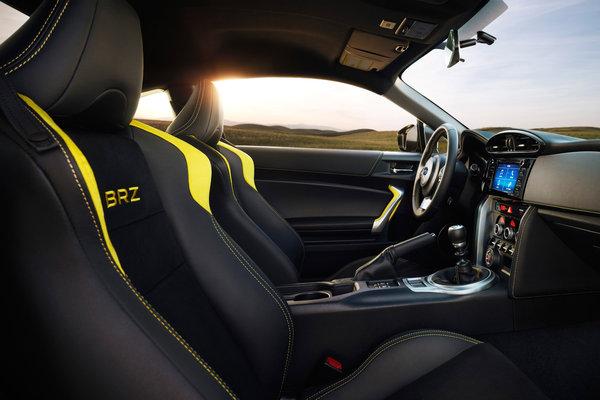 2017 Subaru BRZ Special Edition Interior