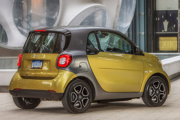 2017 Smart fortwo electric drive coupe