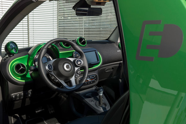 2017 Smart fortwo electric drive cabrio Interior