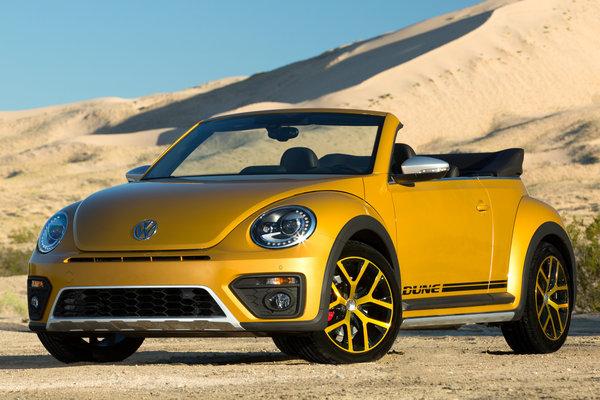 2017 Volkswagen Beetle Dune Convertible