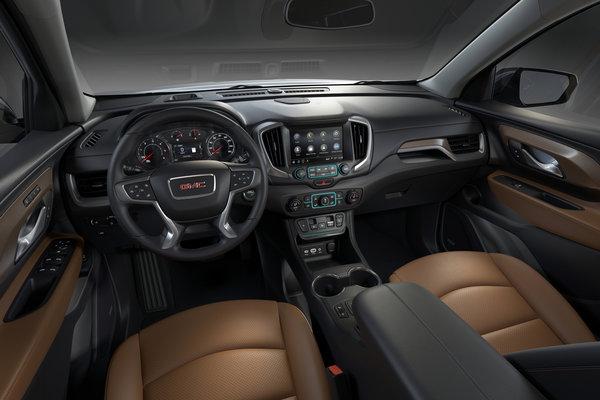 2018 GMC Terrain Interior