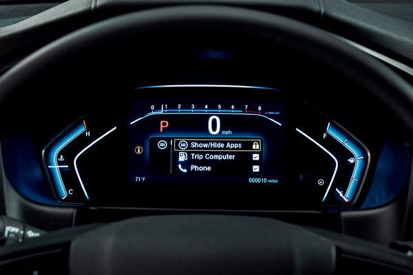 2018 Honda Odyssey Instrumentation