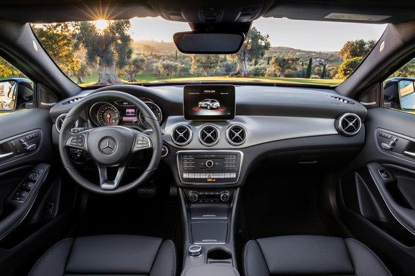 2018 Mercedes-Benz GLA-Class GLA250  Interior