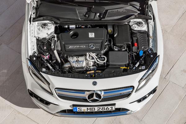 2018 Mercedes-Benz GLA-Class AMG GLA45 Engine