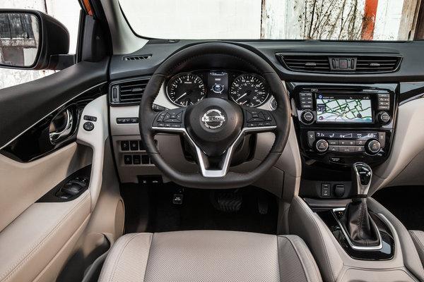 2017 Nissan Rogue Sport Instrumentation