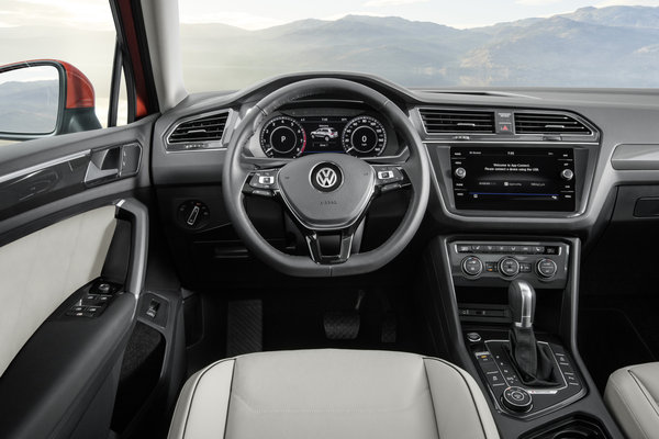 2018 Volkswagen Tiguan LWB Instrumentation