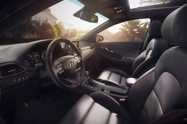 2018 Hyundai Elantra GT Interior