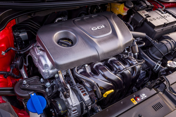 2018 Kia Rio 5d Engine