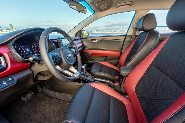 2018 Kia Rio sedan Interior