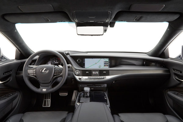 2018 Lexus LS 500 FSport  Interior