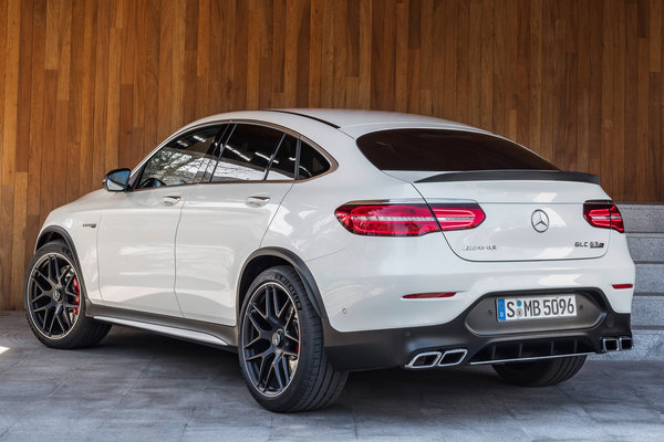 2018 Mercedes-Benz GLC-Class Coupe AMG GLC63