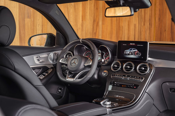 2018 Mercedes-Benz GLC-Class Coupe AMG GLC63 Interior