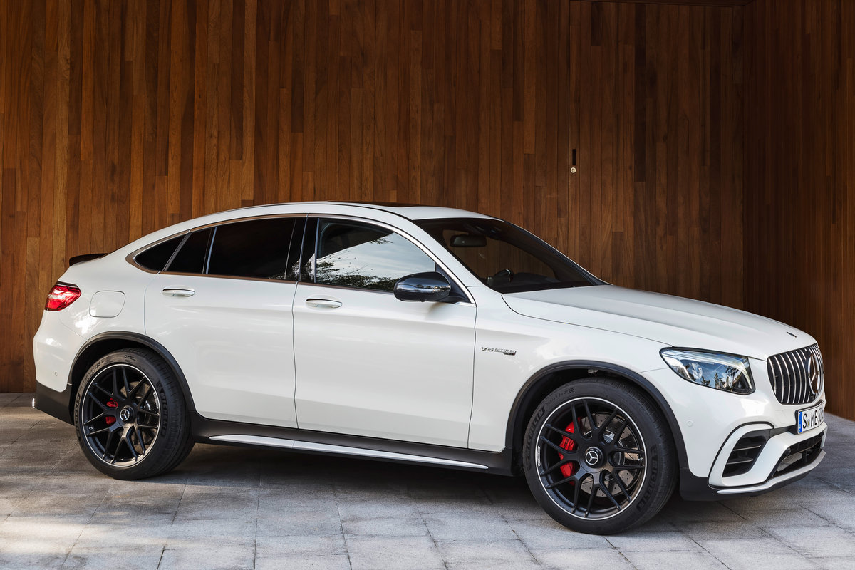 Mercedes Benz Amg >> 2019 Mercedes-Benz GLC-Class Coupe pictures