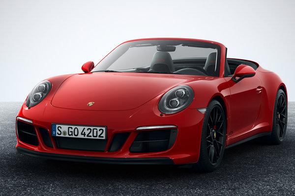 2018 Porsche 911 Carrera Cabriolet GTS