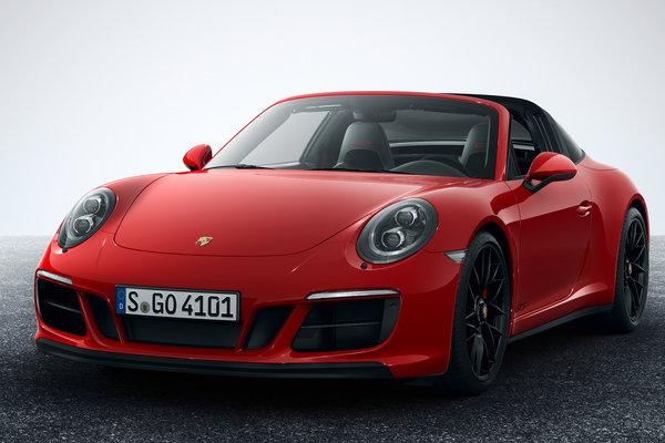 2018 Porsche 911 Targa