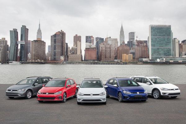 2018 Volkswagen Golf family