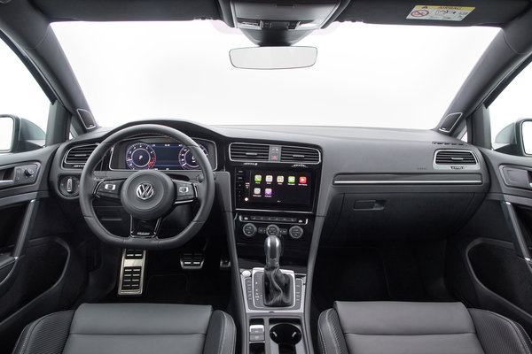 2018 Volkswagen Golf R 5d Interior