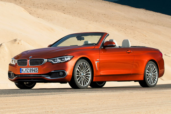 2019 BMW 4-Series convertible