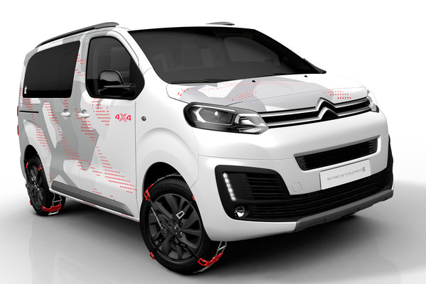 2017 Citroen SpaceTourer 4x4 E