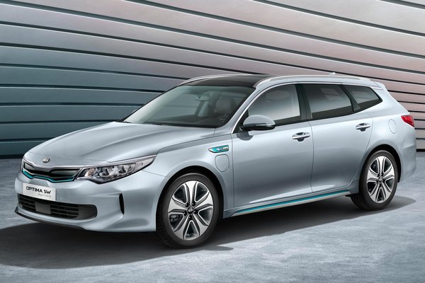 2017 Kia Optima Sportswagon PHEV